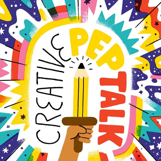 Oh my goodness! I have only just discovered this wonderful podcast 'Creative Pep Talk'. It's fantastic!! It also has the best illustrations AND I have just listened to episode No.166 with my hero @lisacongdon talking about her wonderful book 'A Glorious Freedom'. ❤️Go get it all! Happy Saturday!😀😘