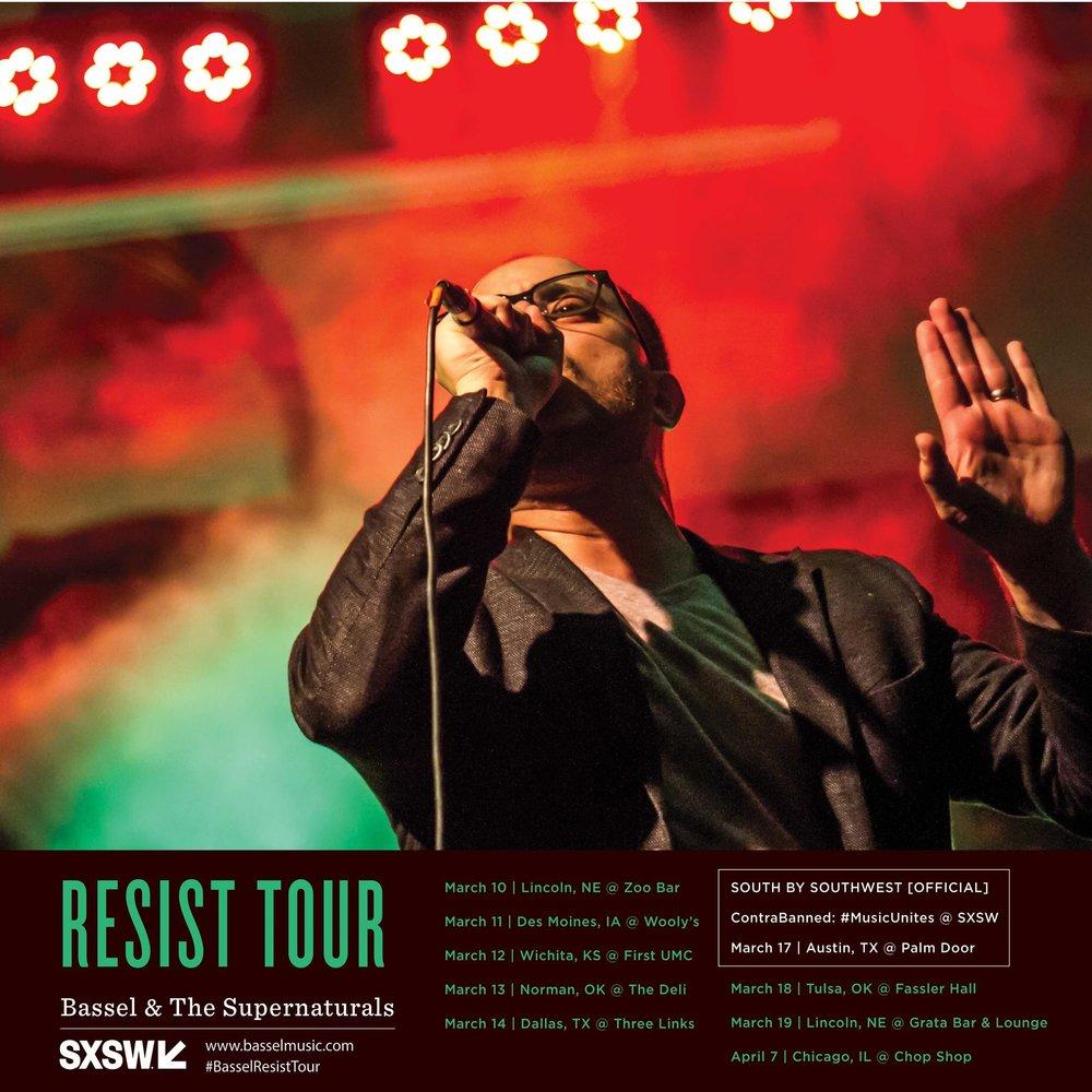 Bassel Resist Tour