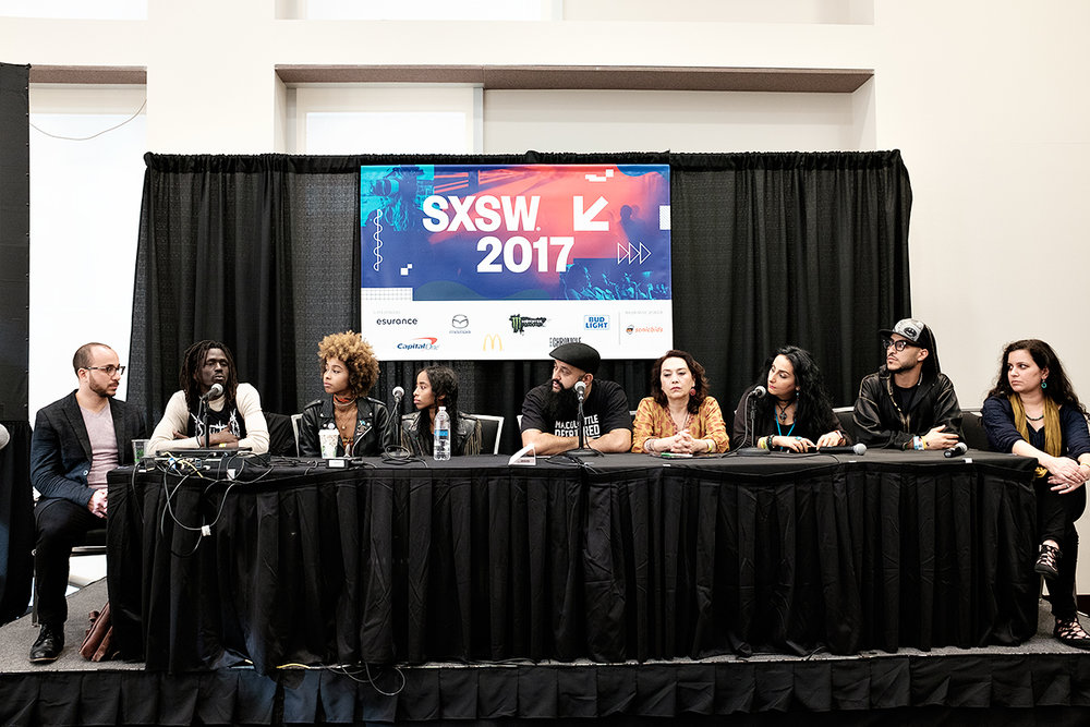 ContraBanned: #Music Unites @ SXSW  Pre-Show Panel Discussion  Photo by Bill McCullough