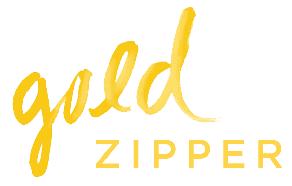 Gold Zipper