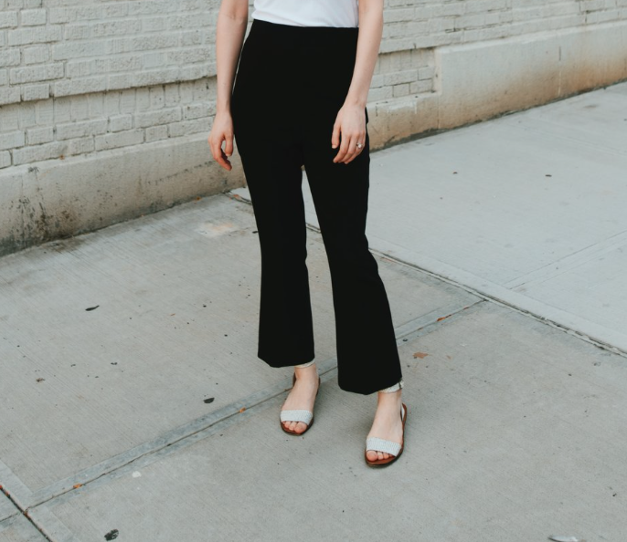 Crop Slacks, Zara