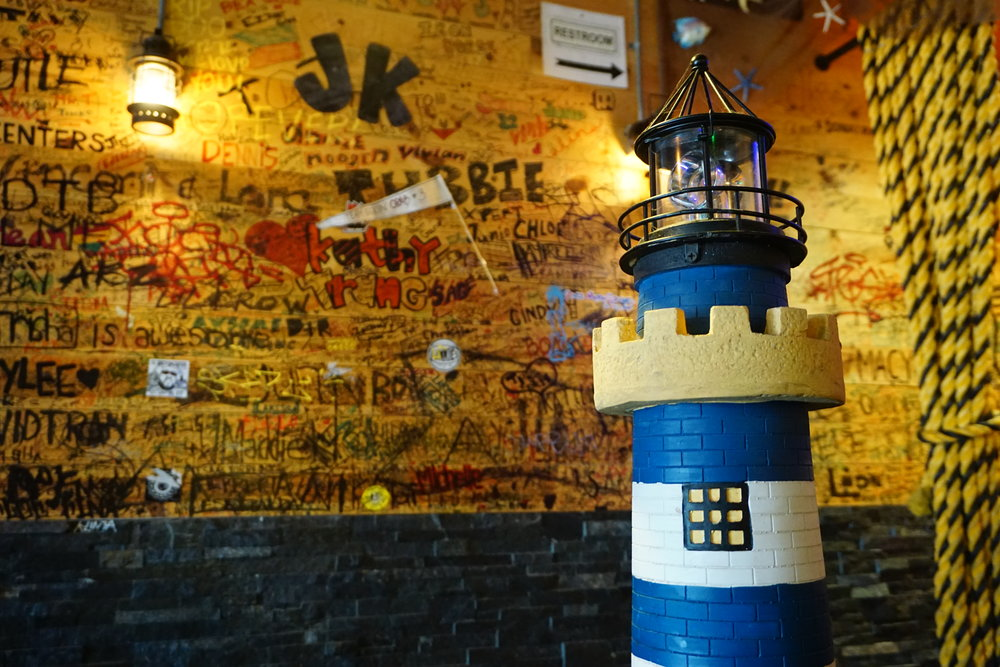 Photo inside of Kickin' Crab Light Tower
