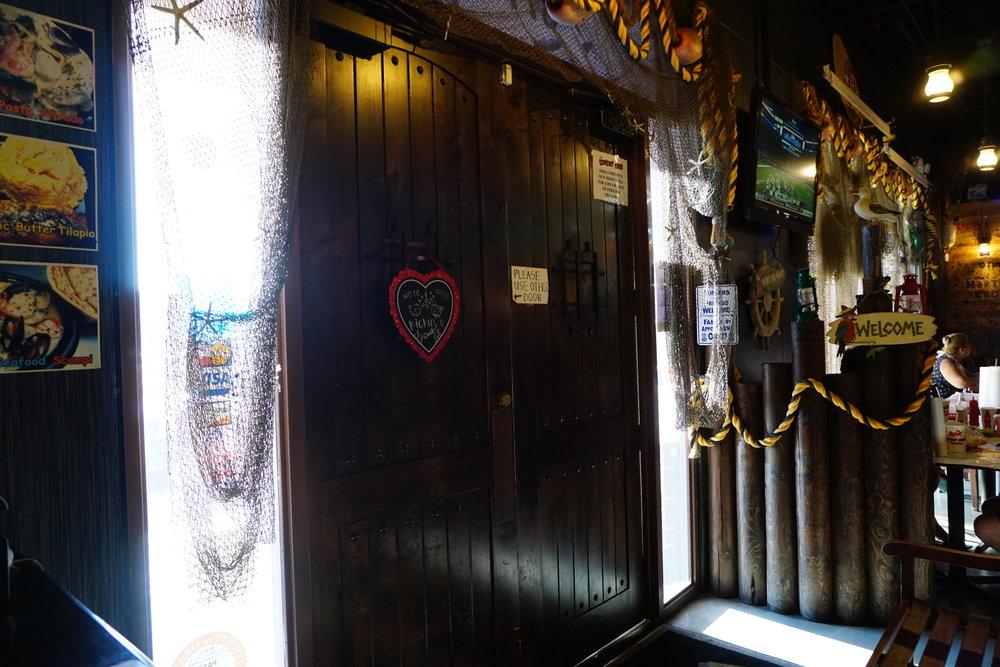 Photo inside of Kickin' Crab Door