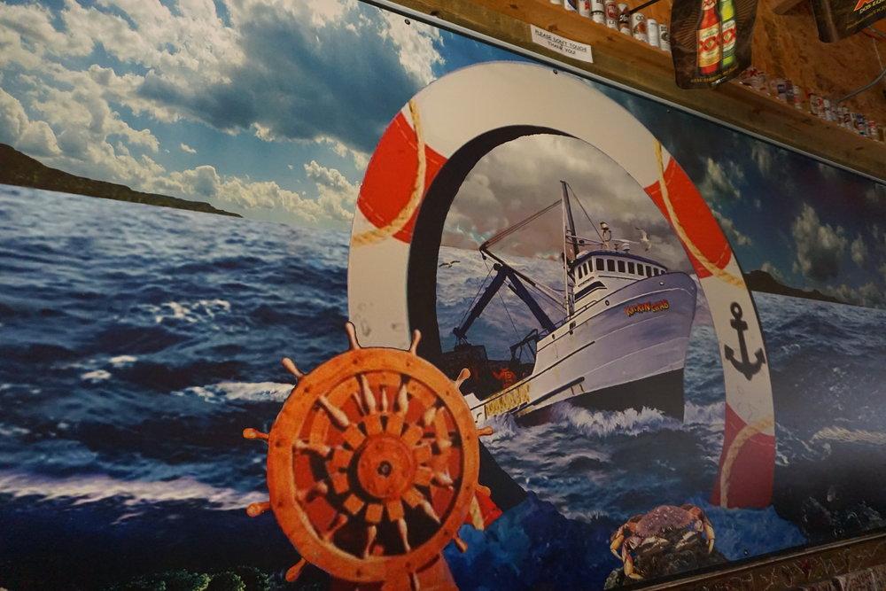photo  inside of Kickin' Crab Ocean and Ship