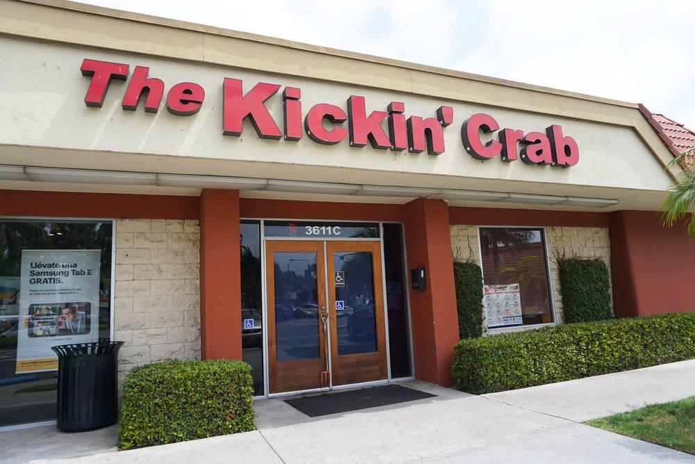 Photo of outside Kickin' Crab Santa Ana
