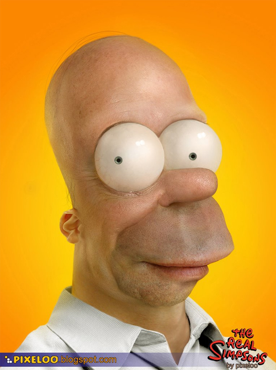 The Real Homer Simpson