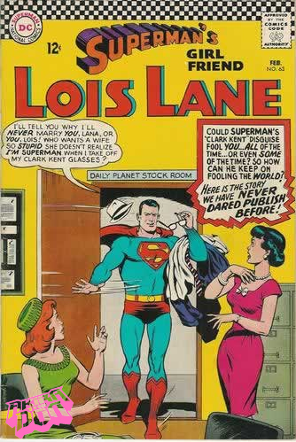 superman mocks the idiocy of lois lane