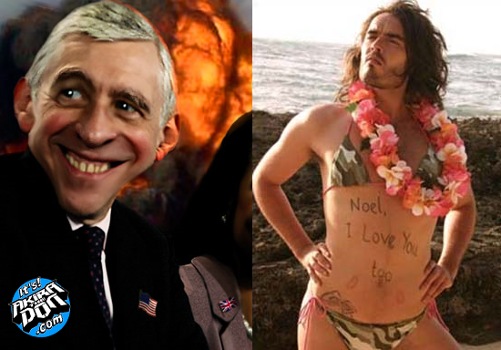 Jack Straw and Russel Brand