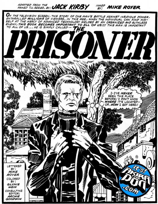 Jack Kirby's The Prisoner