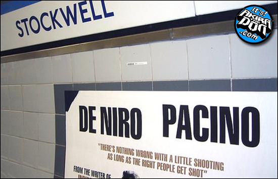 De Niro And pacino Kill In Stockwell