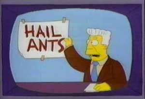 SimpsonsHailAnts