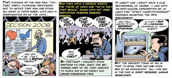 peter bagge on ron paul