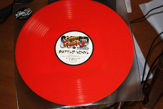 Street Fighter 2 turbo Battle Vinyl!