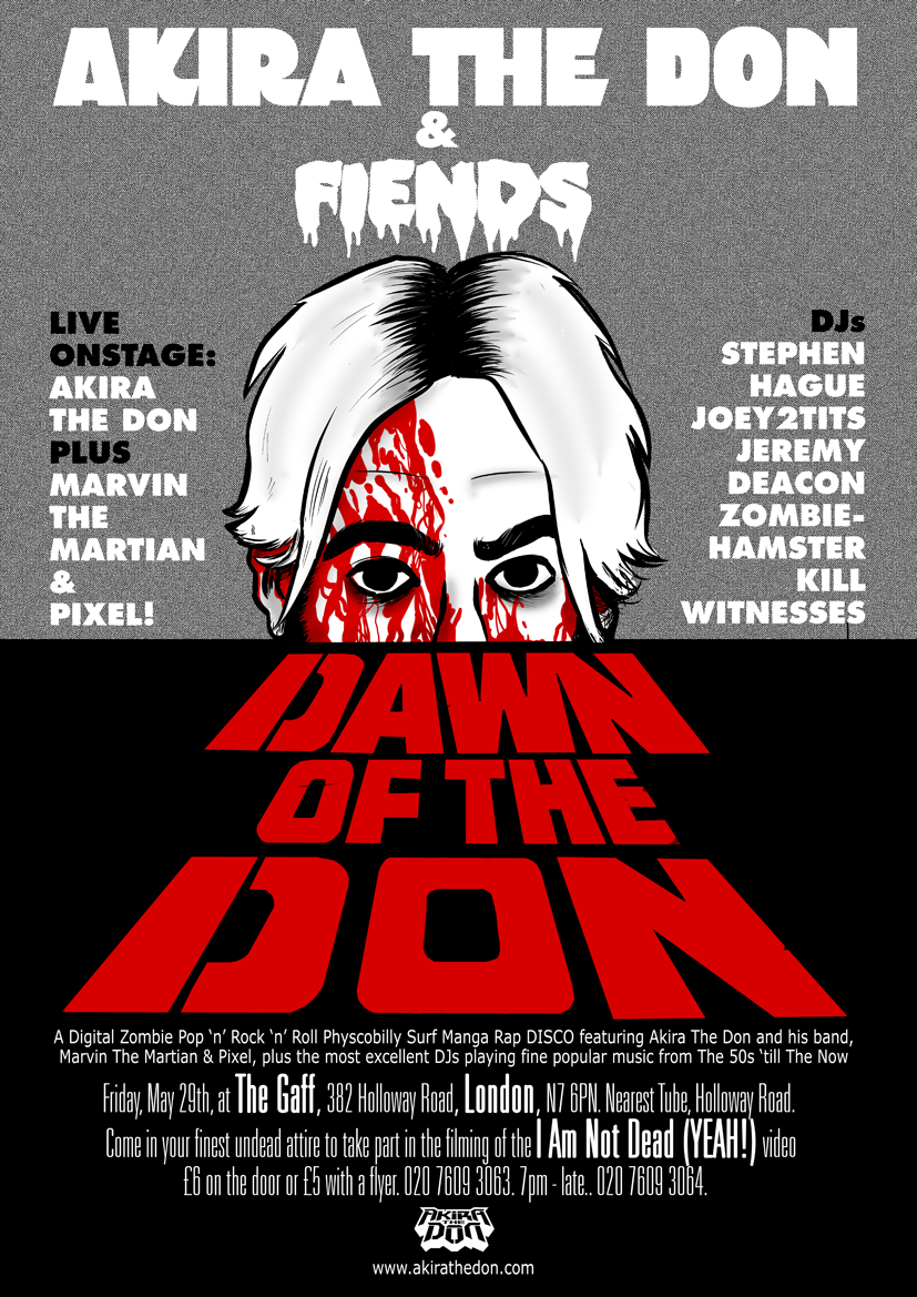 Dawn of The Don Flyer