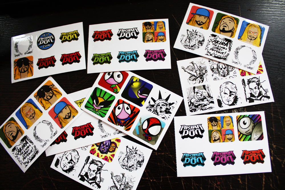 Stickers, by Akira The Don