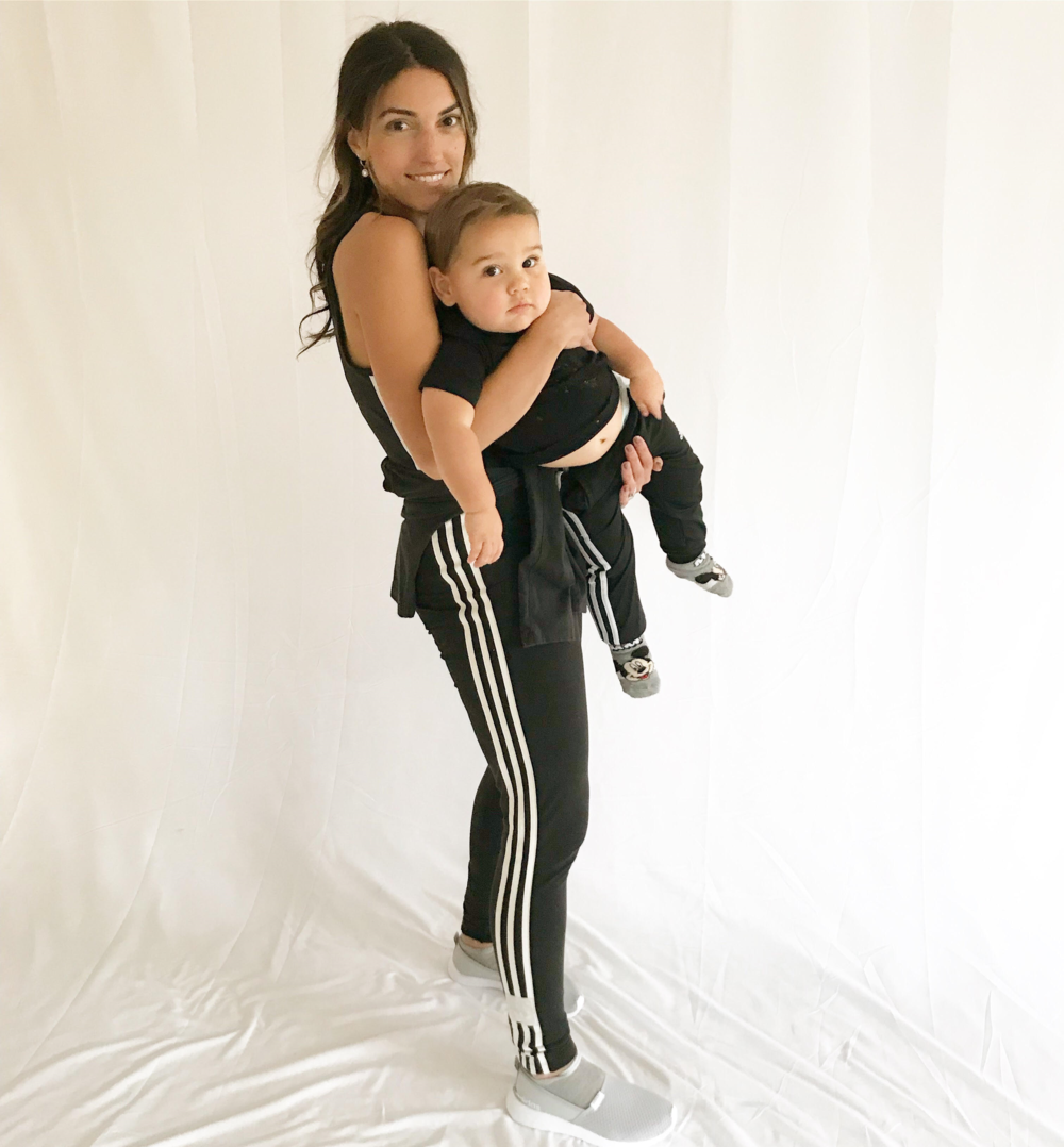 Owner/Designer Tiffany and her son, Aston.