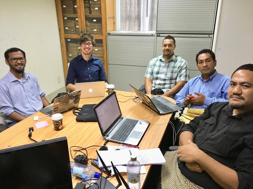 Consultations with CERT Tonga - Nukualofa, TO (2017)
