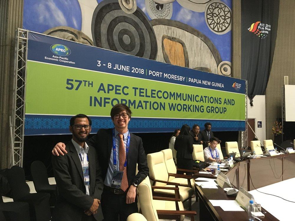 APEC TEL 58 - Port Moresby, PG (2018)