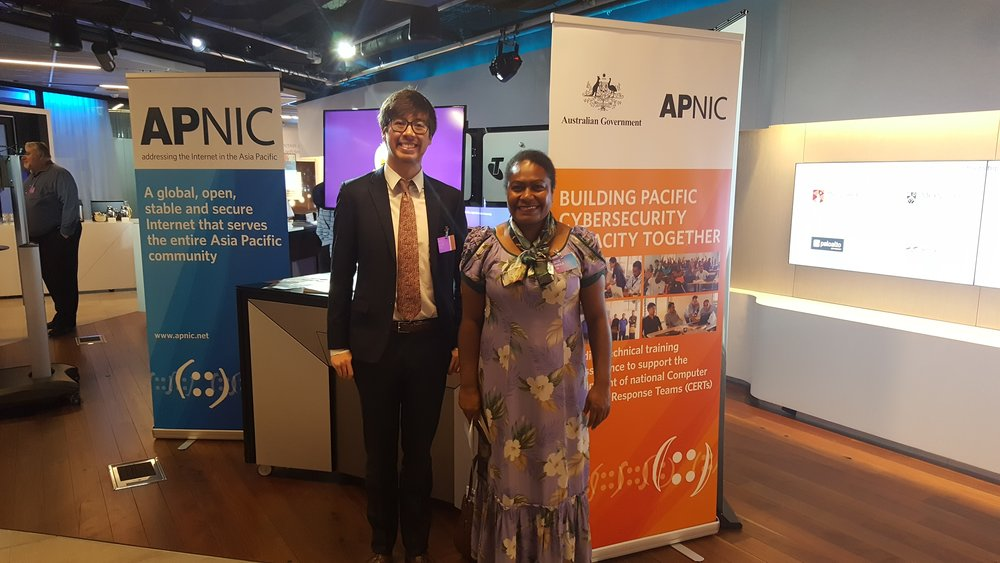 Catching up with Vanuatu Regulator - Sydney, AU (2017)