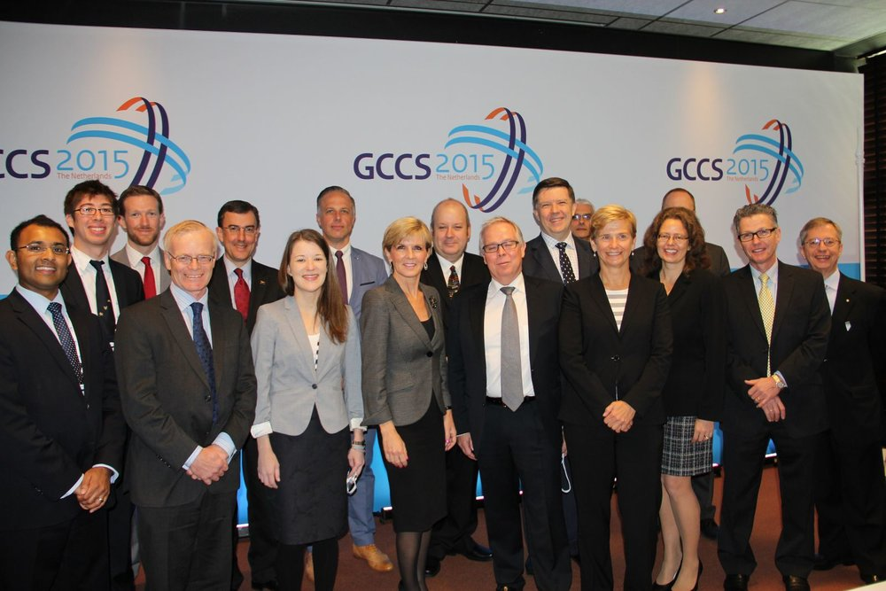 AU delegation at GCCS 2015 - The Hague, NL (2015)
