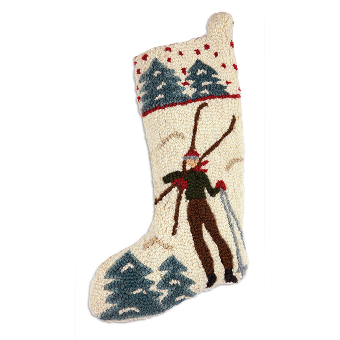 Back to the Lodge Christmas Stocking  -