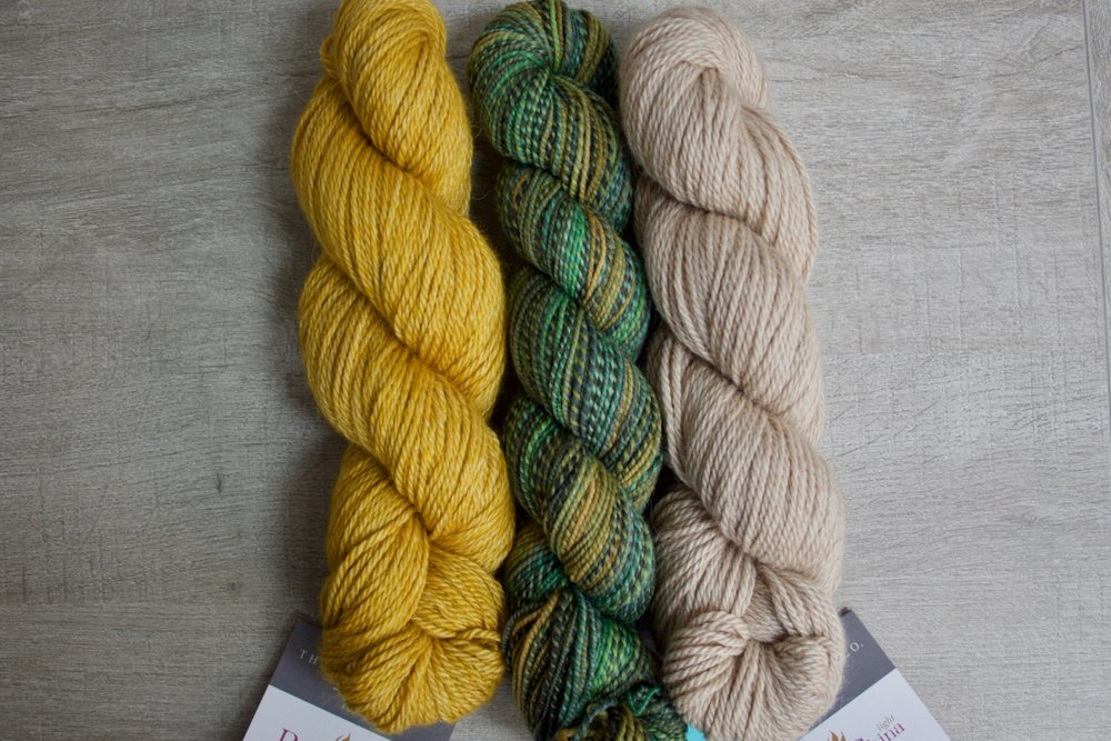 Dyed in the Wool in Huldra, Road to China Light in Topaz & Riverstone