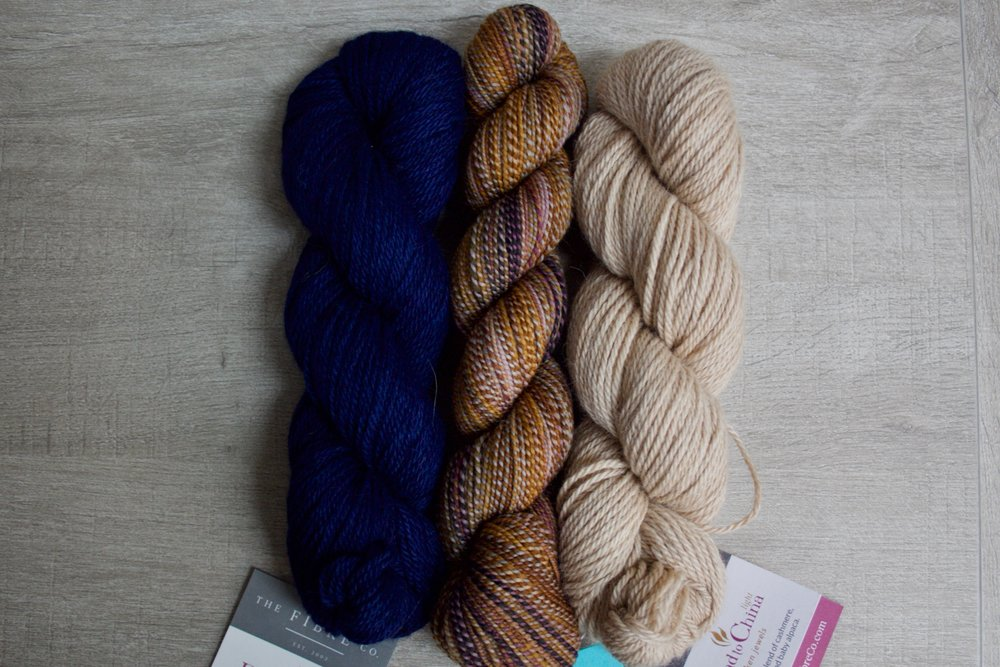 Dyed in the Wool in Payback, Road to China Light in Cobalt & Riverstone