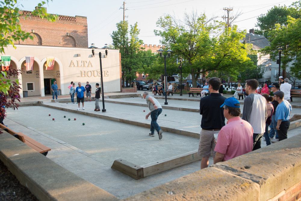 2016 JAC Bocce Tournament.  Image:  ©  David Schwartz Photography