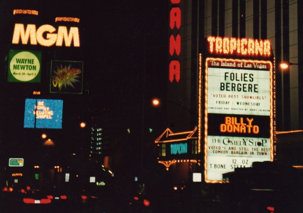 Billy Donato Night Marquee - Las        Vegas.jpg