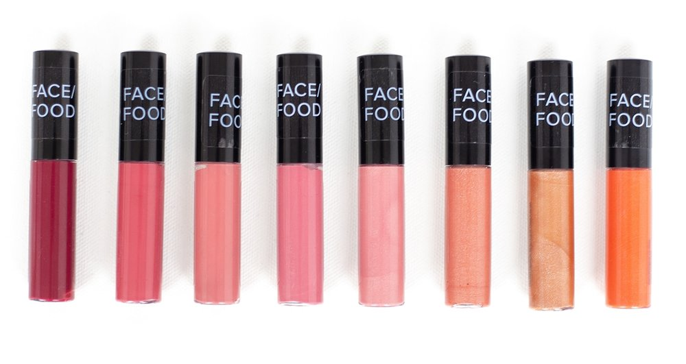 Face Food Lip Gloss, all-natural & 90% Organic