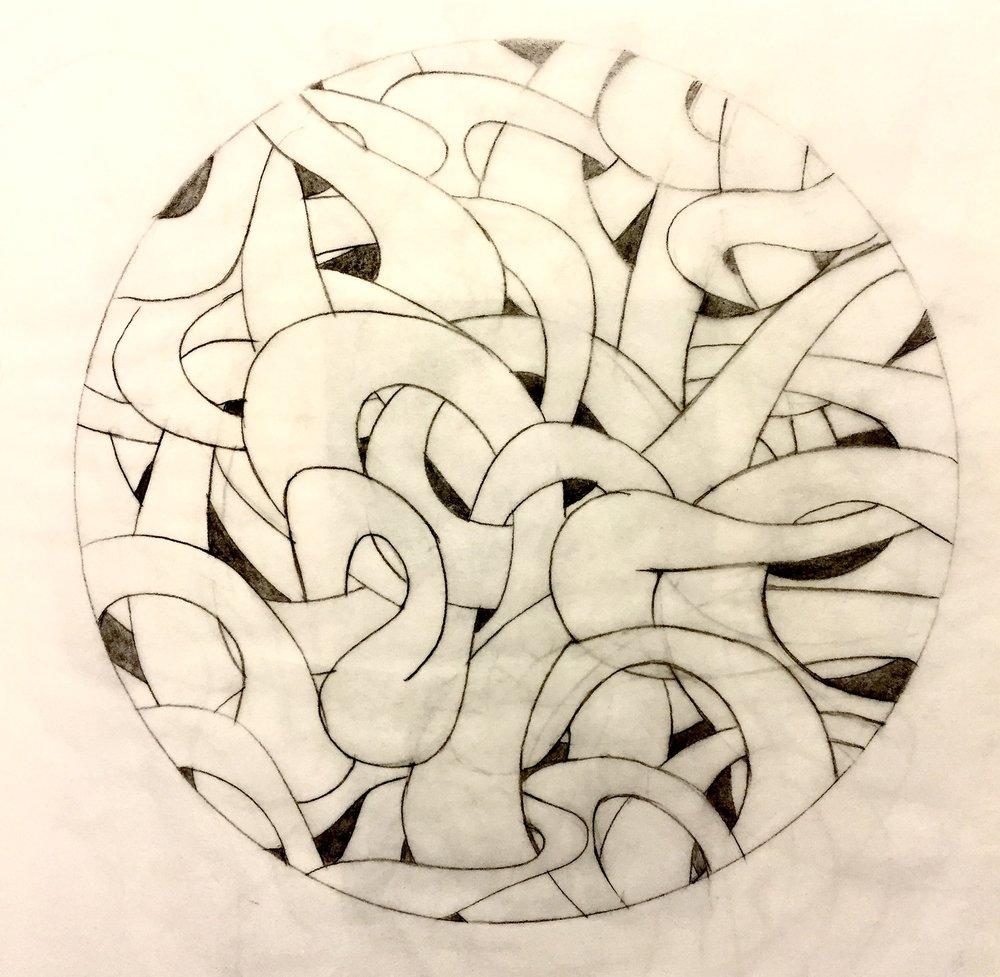 Sketch for 3D model.