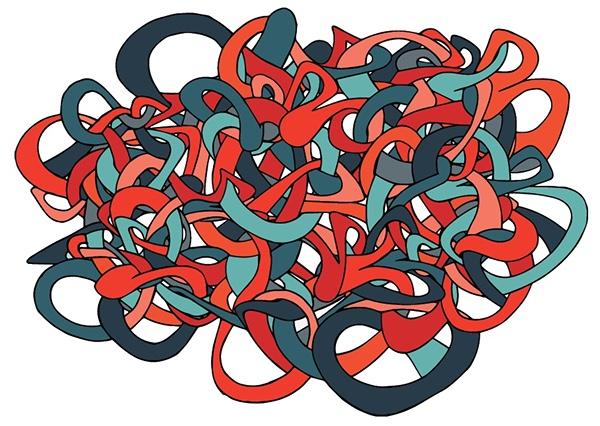 Digital Tangle #2