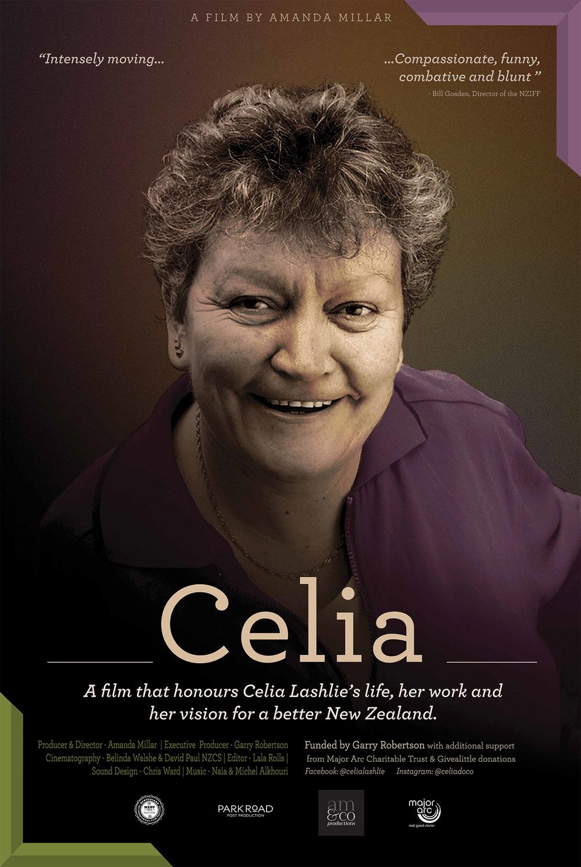 Offical Celia poster for the New Zealand International Film Festival 2018