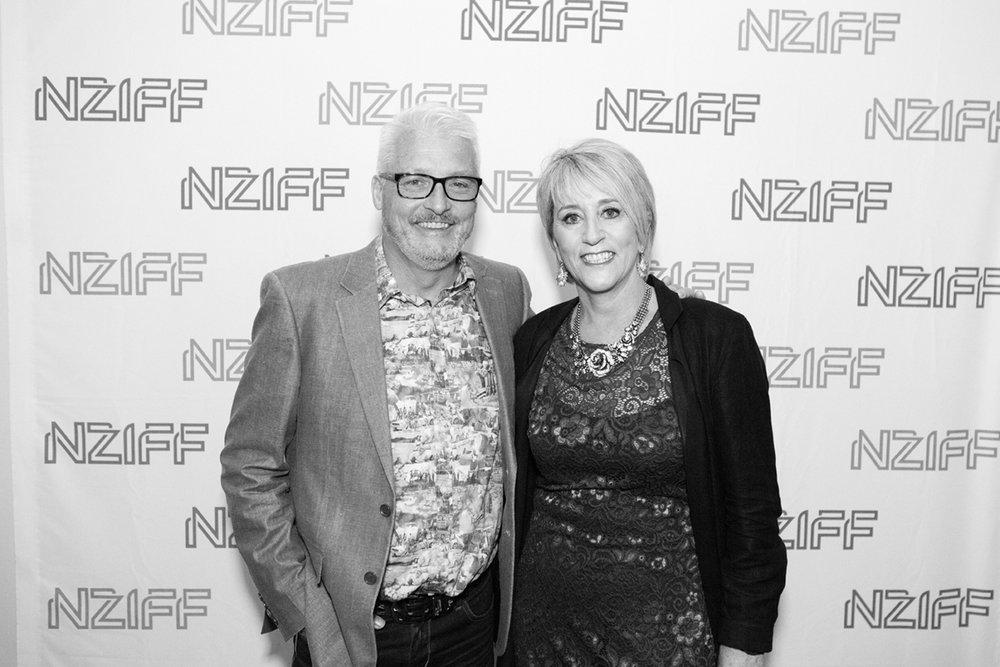 Executive Producer, Garry Robertson and Director Amanda Millar