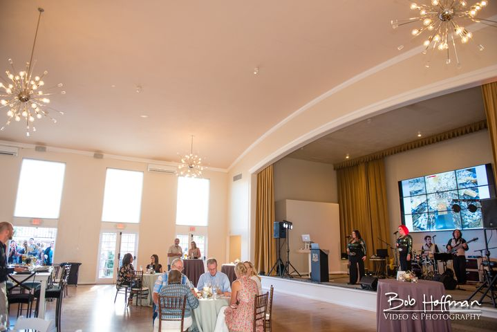 Parq West - One of my new favorite wedding venues in San Diego. The whole building has been recently renovated to perfection. The outdoor area is perfect for live guitar music and they even have a grand piano on the inside!
