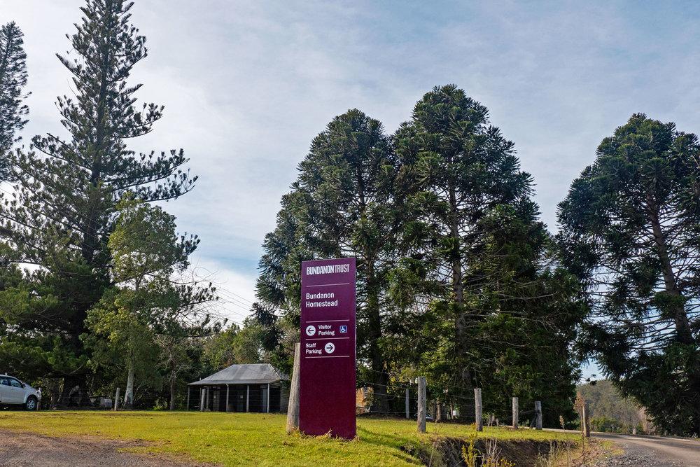 Bundanon Trust - Outdoor Wayfinding Sign