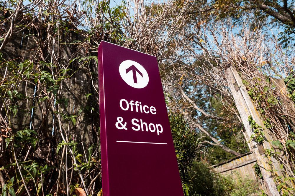 Bundanon Trust - Wayfinding Garden Signage