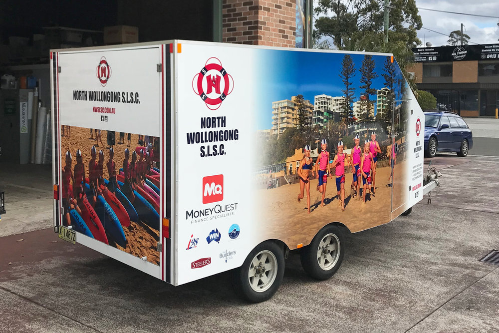 North Wollongong SLSC - Trailer Wrap