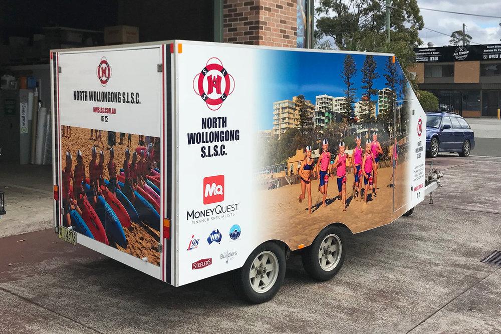North Wollongong SLSC - Trailer Wrap