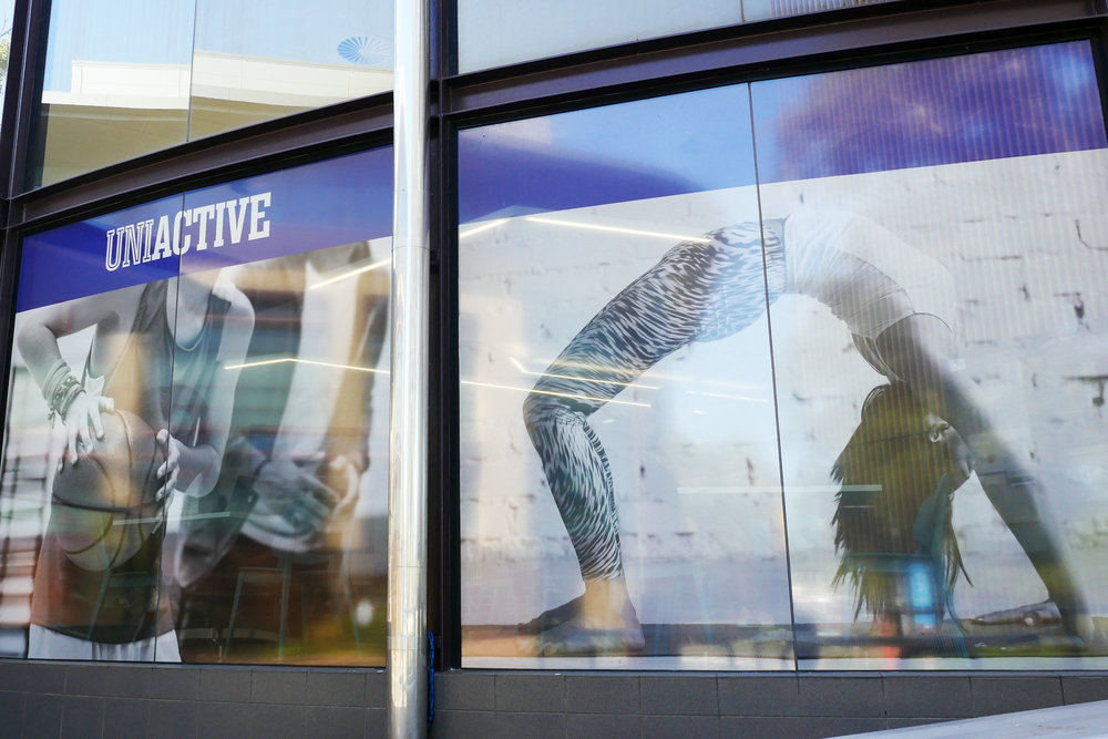 UOW UniActive - Window Film Printed