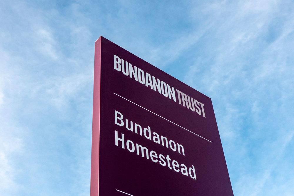 Bundanon Trust - Property Entry Pylon Sign