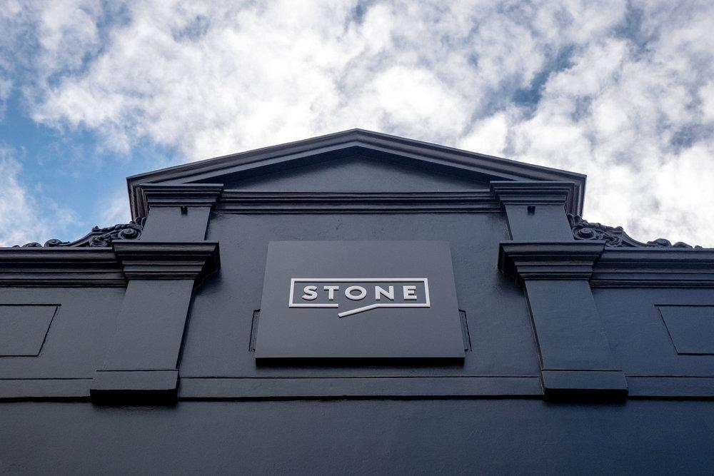 Stone Real Estate Illawarra - Building Sign