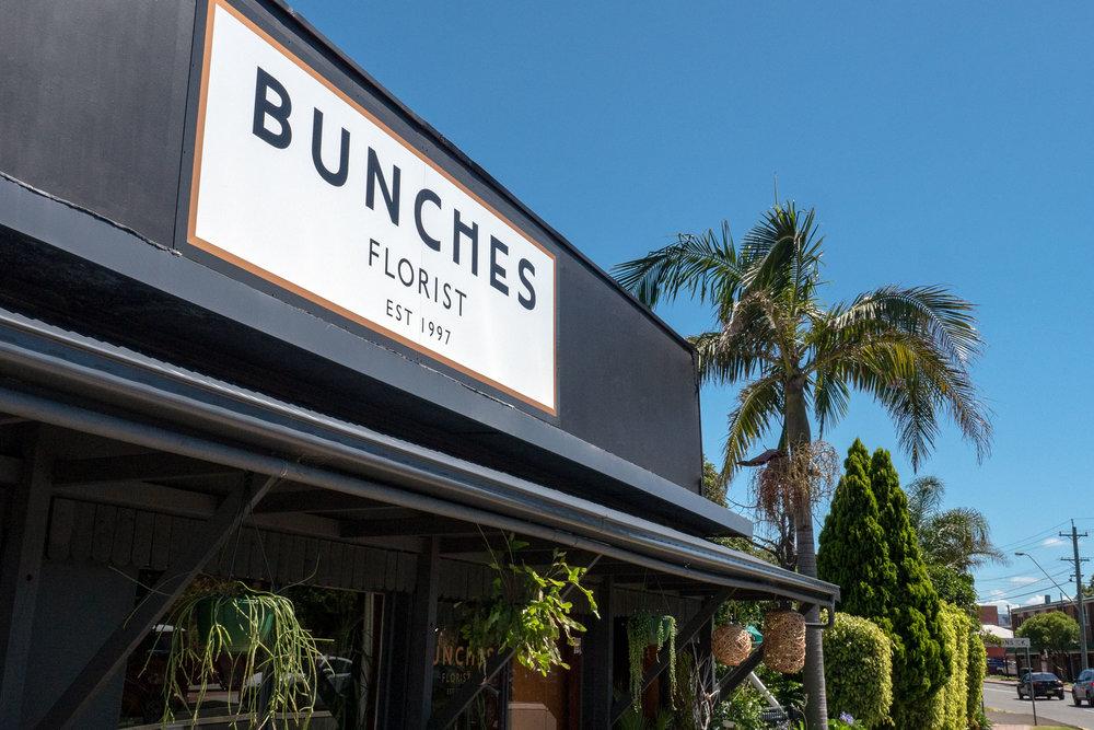 Bunch Florist - Business Sign