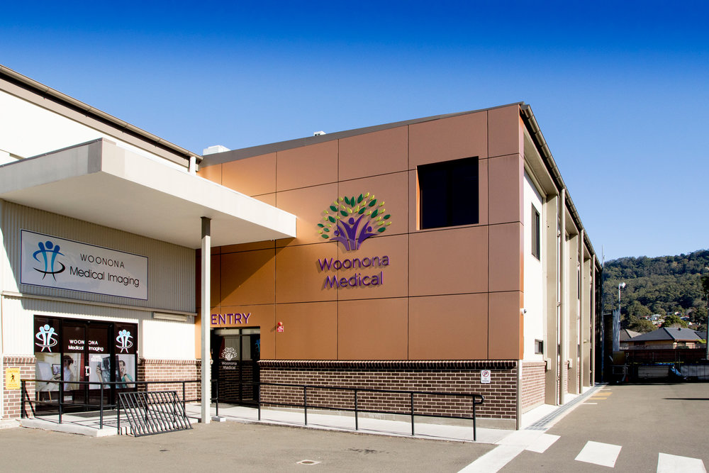 Woonona Medical - Business Sign