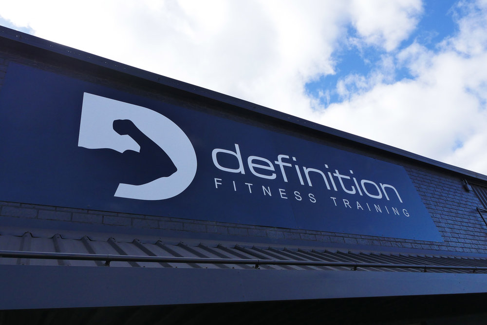 Definition Fitness - Business Signage