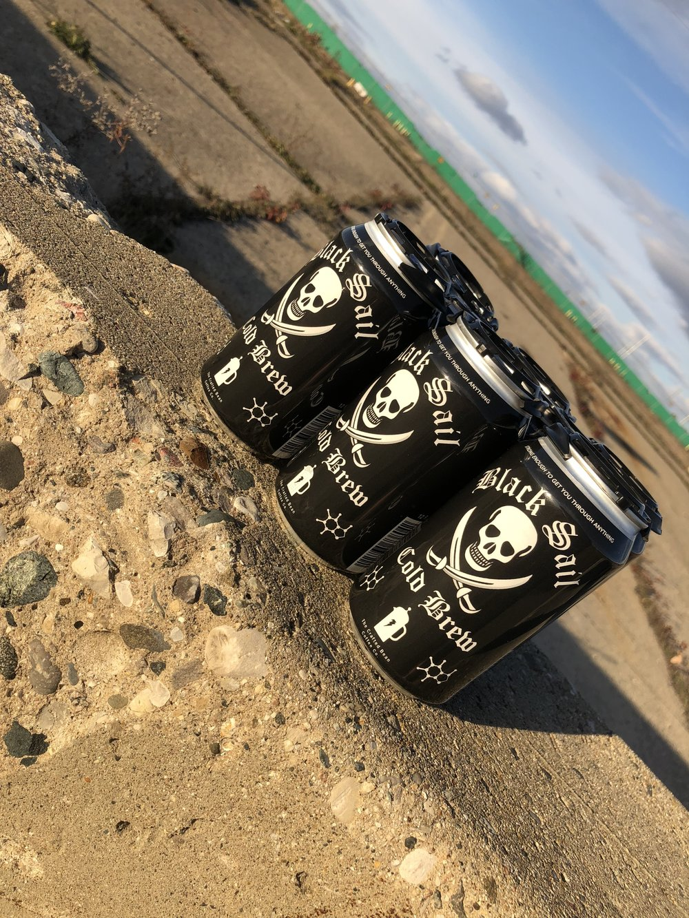 Black Sail Cold Brew Coffee - The rebirth of our Black Sail Cold Brew, Strong enough to get you through anything!-6 pack of cans-