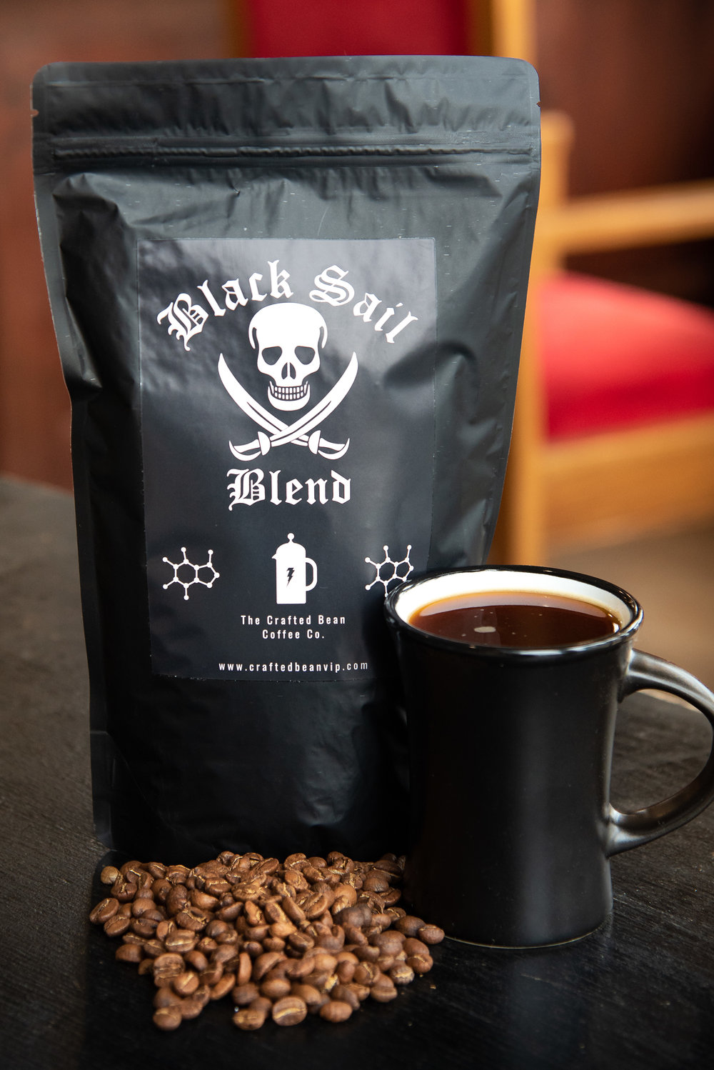 Shop Amazon! - Check out our Black Sail Blend on AMAZON!Under a black sail we thrive!This is our credo, we will thrive in any environment and wave our black sail proudly!This is why we made Black Sail Blend, strong enough to get you through anything!Our Black Sail Blend is sourced from Colombia, in the volcanic & mountainous region of Cauca. Carefully selected, our beans come from altitudes of 1200 and 2000 MASL, then blended during the roasting process. The result is an all natural washed coffee blend.The profile is tartaric red fruits (apple, cherry), flavorful molasses and toasted marshmallow. Our goal is to provide a bold and complex brew! Roasted to bring out the antioxidants and anti inflammatory properties known to this bean. Black sail will entertain the coffee enthusiasts & caffeine seekers alike, strong enough to get you through anything!