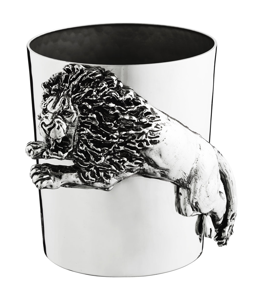 Giovanni Raspini Sterling Silver Lion Cup.jpg