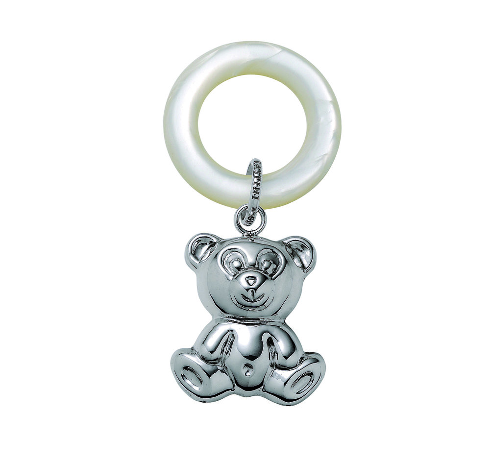 Giovanni Raspini Sterling Silver Teddy Bear Rattle.jpg