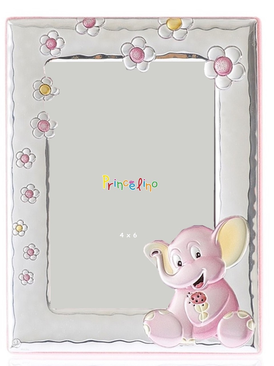 CUNILL  Pink Elephant Baby Frame